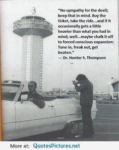 Happy birthday Hunter S Thompson! What a legend