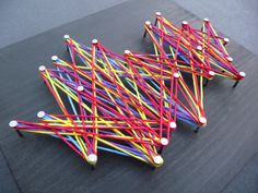String Art from Art Club Blog