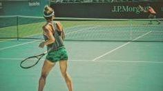 Simona Halep s-a antrenat cu Carla Suarez Navarro, înainte de debutul..