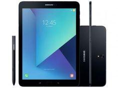 """Tablet Samsung Galaxy Tab S3 32GB Tela 9.7"""" 4G - Android 7.0 Proc. Quad Core Câm 13MP + Frontal 5MP R$ 2.999,00  R$ None em até 10x de R$ 299,90 sem juros no cartão de crédito  ou R$ 2.639,12 à vista (12% Desc. já calculado.)"""
