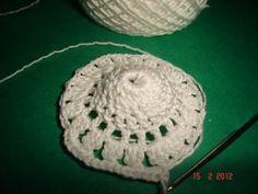 Martisor crosetat handmade Crochet Earrings, Handmade, Hand Made, Handarbeit
