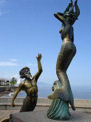 Tritn y Sirena (h.m1505) Tags: puerto mar jalisco vallarta malecn