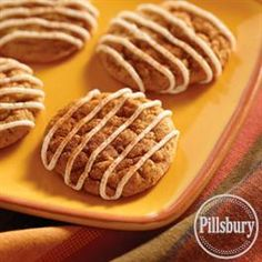 Pumpkin and Cream Cheese Cookies from Pillsbury® Baking