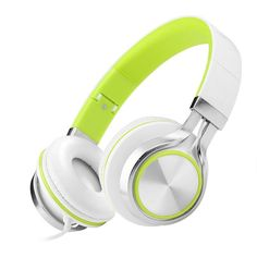 Headsets Bass Wire Foldable Headphones