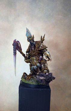 Warhammer 40k | Chaos Space Marines | Death Guard - Nurgle Plaguelord http://wellofeternitypl.blogspot.com #warhammer #40k #40000 #wh40k #wh40000 #warhammer40k #gw #gamesworkshop #wellofeternity #miniatures #wargaming #hobby #tabletop