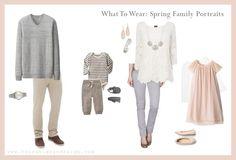 Spring Portrait Color Scheme