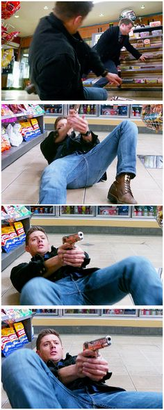 [gifset] 10x18 Book Of The Damned #SPN #Dean