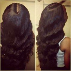 Middle part with waves
