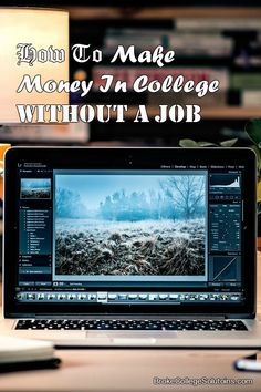 You think having a job in college is the only way to make money? Well, think again! And it's legal, what a plus!- http://brokecollegesolutions.com/how-to-make-money-in-college-without-a-job/