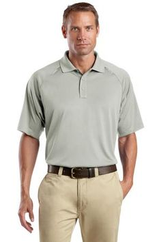 Buy the CornerStone - Select Snag-Proof Tactical Polo Style CS410 from SweatShirtStation.com, on sale now for $26.99 #polo #snagproof #cornerstone Light Grey