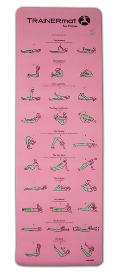 DIY Pilates Trainer Mat - doing exercises before work. Ok, so where can I get one if these mats? ❤️