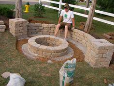 Easy Backyard Fire Pit Designs More
