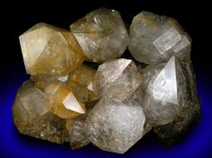 Quartz var. Herkimer Diamonds from Eastern Rock Products Quarry (Benchmark Quarry), St. Johnsville, Montgomery County, New York