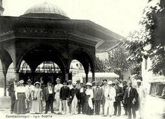 Ayasofya Şadırvanı 1910