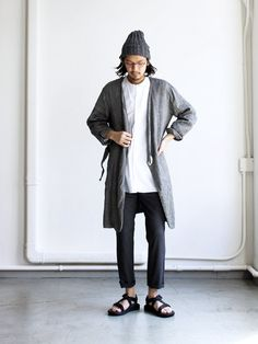 Ordinary fits Atelier Coat Fashion Pants, Boy Fashion, Mens Fashion, Fashion Outfits, Fashion Design, Men Street, Street Wear, Japanese Street Fashion, Japan Fashion