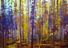 Dit is expressionistisch omdat een bos ziet met alle details