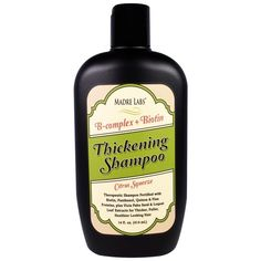 EXTRA SALE on #iHerb Madre Labs Thickening B-Complex Shampoo $7,96 OFF - Now $1,99 #RT Discount applied in cart