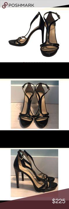 1911501b3 Tory Burch black patent leather heels Beautiful pair of Tory Burch size 8  black patent leather