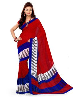 Red With Blue Combination.Have a look into it...