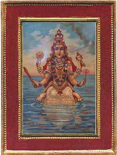 Ravi Varma Old Prints,Oleographs,Antique Prints,Lithographs,Old Paintings Lord Vishnu Wallpapers, Mughal Empire, Old Paintings, Antique Prints, Hinduism, Incredible India, Demons, Mythology, Avatar