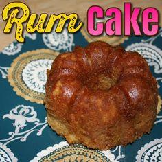 EmilyCanBake: Rum Cake