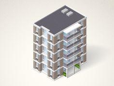 Building, house, home, company icons design