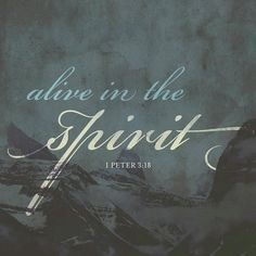 Christ suffered for our sins once for all time. He never sinned, but he died for sinners to bring you safely home to God. He suffered physical death, but he was raised to life in the Spirit. 1 Peter 3 NLT http://bible.com/116/1pe.3.18.NLT