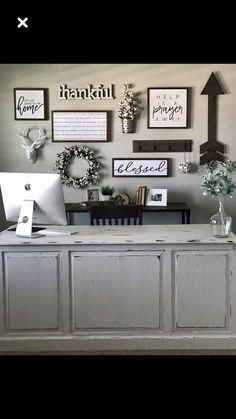 Don't think you have the extra space for a home office? ... you are trying to squeeze in a small desk or a fully loaded workspace, these ideas will. . #deskdecorationideasinoffice