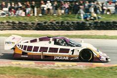 Martin Brundell 1988 Jaguar XJR9 V-12  Brands Hatch 1000 Km