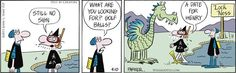 wizard of id & dragon images | ... admirer!! Tris is Henry the Dragon from The Wizard of Id comic strip