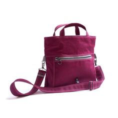 The Paperback in Deep Magenta // our pick for spring!  #waxedcanvas