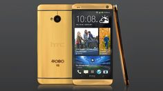 HTC One Now Plated in Real Gold That'll Cost You $4400