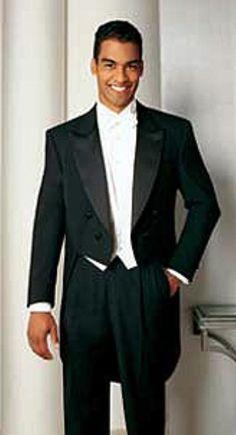 204b25c329998 Basic Full Dress Black Tailcoat with Peak Lapel Tuxedo Jacket with the tail  suit