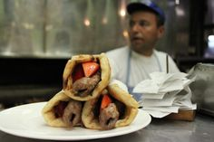 Greek Glory: The Kebab Pita at Thanasis in Athens,Greece | The Culinary Linguist