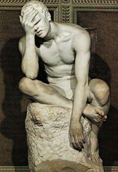 """""""Facepalm,"""" Tuileries Garden, Paris (Sculptor uncredited)"""