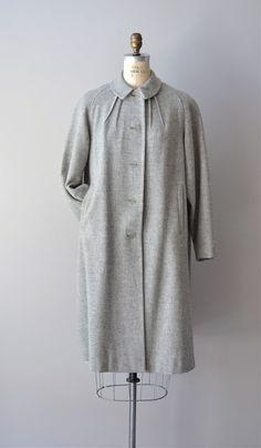1950s Mademoiselle wool coat    #vintage #vintagecoat #1950s