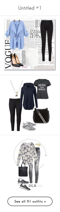 """""""Untitled #1"""" by fashionwoman137 ❤ liked on Polyvore featuring J Brand, Christian Louboutin, Sans Souci, Simply Vera, Doublju, LC Trendz, adidas Originals, Betsey Johnson, plus size clothing and Wildfox"""