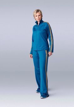 Jane Lynch as Sue Sylvester in Glee.