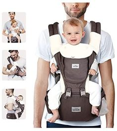 Amazon.com : SIMBR Baby Carrier for Newborn to Toddler (3-36 Months ) with Hip Seat, Convertible 12-in-1 Ways to Carry Backpack Use, Adjustable Size for Men and Women, Ergonomic Design 360° Safety, Outdoor Hiking : Baby