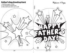 Fathers Day Card Template Free New Free Printable Fathers Day Cards to Color Coloring Home