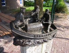 Statues, Netherlands, Holland, Fountain, Around The Worlds, Monuments, Outdoor Decor, Design, Art