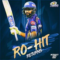 """Mumbai Indians on Instagram: """"It was a @rohitsharma45 special that drove us to our first victory of the season, at the Wankhede last night!  . #CricketMeriJaan…"""""""