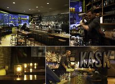 Kask is located in downtown, in the West End business district.