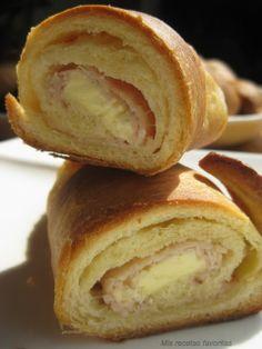 Mis recetas favoritas: Cachitos de pavo y queso crema