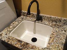 Mustee Durastone 10 Single Basin Drop In Utility Sink Mustee  Https://www.amazon.com/dp/B00FX99E0U/refu003dcm_sw_r_pi_dp_x_WYrLybN1AJX3V |  KITCHEN IDEAS ...