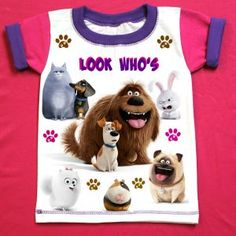 Secret Life of Pets Birthday Shirt