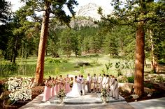 lauren & brad's della terra wedding – estes park wedding photographer peach cream pink pearls champagne vintage wedding | Lindsay J. C. Lack – Kansas City & Colorado Wedding Photographer / Photojournalist lindsayjphoto.com