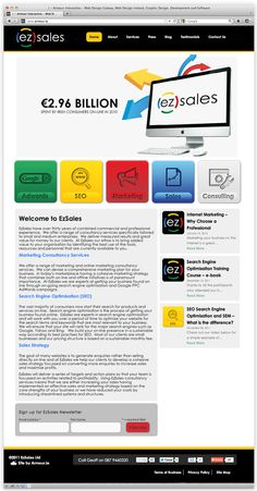 ez sales by Andrew Dewdney , via Behance Seo Marketing, Sales And Marketing, Internet Marketing, Online Marketing, Sales Strategy, Web Design, Graphic Design, Training Courses, Search Engine