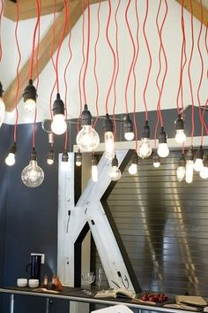 Inspirational images and photos of , Light Strings : Remodelista