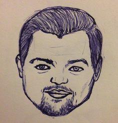 #leonardo #dicaprio #oscar #movies #movie #portrait #drawing #sketch #illustration #face #male #guy #sketchbook #sketch Oscar Movies, Leonardo Dicaprio, Guy, Sketch, Portrait, Drawings, Face, Illustration, Sketch Drawing